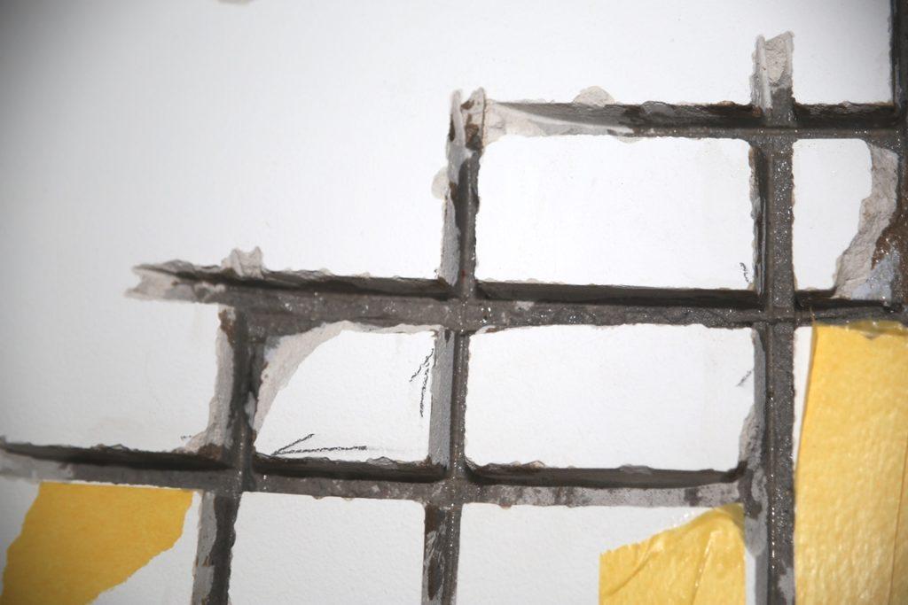Riss im Mauerwerk