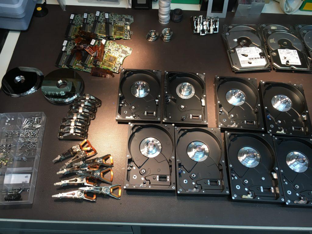 Löschen einer Festplatte