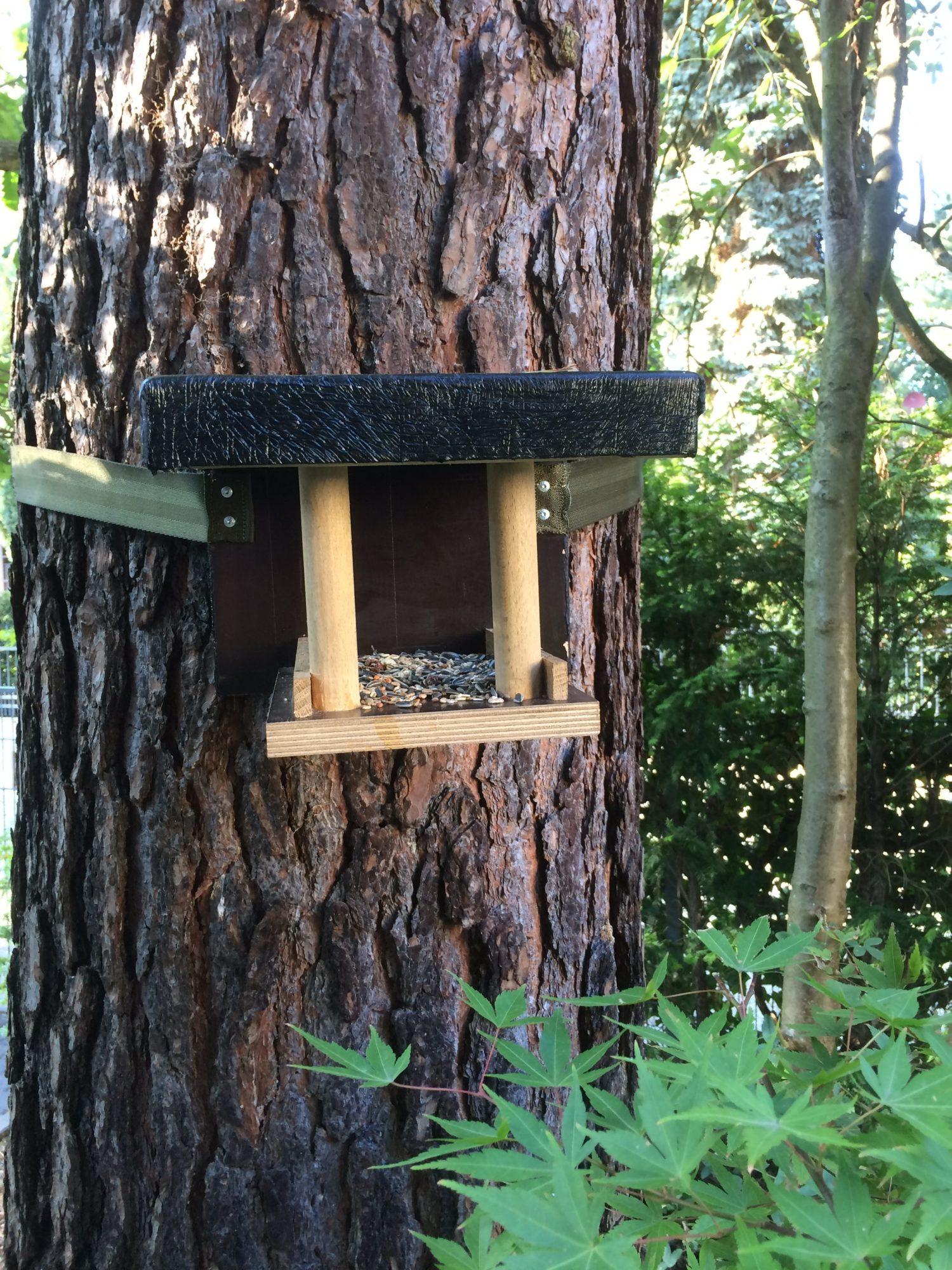 Vogelhaus selbst gebaut